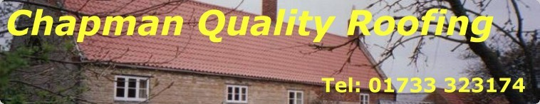 Chapman Quality Roofing Logo